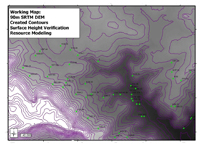 Spatial Modelling of Contours for Surface Height Verification to be Utilsed in Resource Modelling